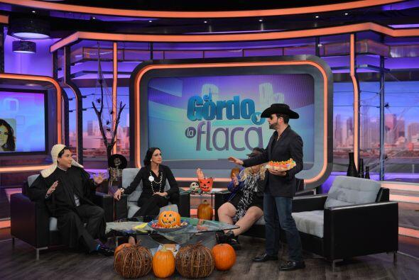 El Halloween de El Gordo y la Flaca estuvo muy animado por una familia m...