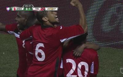 México se duerme y Trinidad lo madruga con un gol