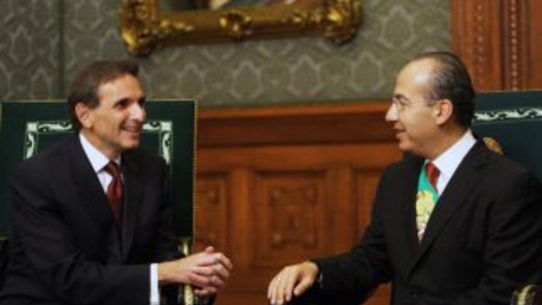 En varios medios trascendió que la relación entre el presidente mexicano...