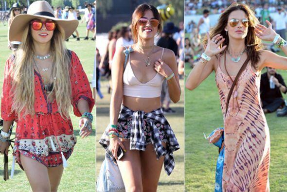 Los famosos disfrutaron de mucha música y moda en uno de los poco...