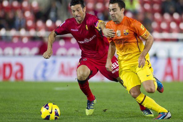 Para el segundo tiempo, el Barcelona salió al campo sin la misma...