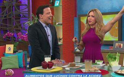 Claudia Molina te ayuda a liberarte de la molesta acidez