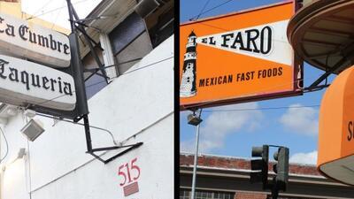 La Cumbre, ubicado en la 16 y la Valencia, y El Faro ubicado en la calle...