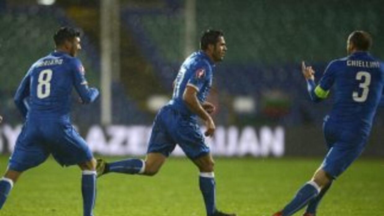 Italia rescató un punto en su visita a Bulgaria.