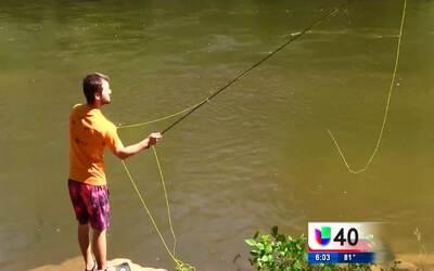 Recorte de presupuesto medioambiental pone en peligro a los ríos en Esta...