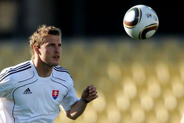 El futbol eslovaco también tiene a uno de los futbolistas m&aacut...