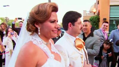 A Carmen Jara le hizo falta alguien el día de su boda