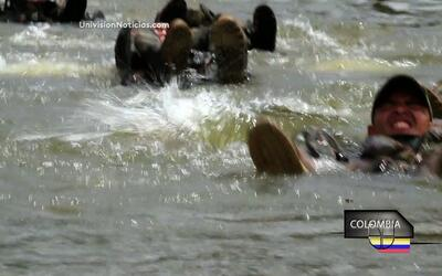 Fuerzas Comando: el evento acuático
