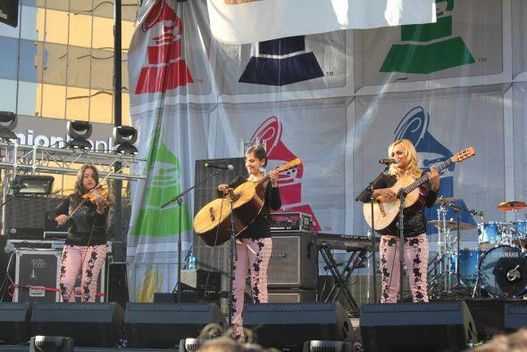 Chicas Latin Grammy Street Party San Jose