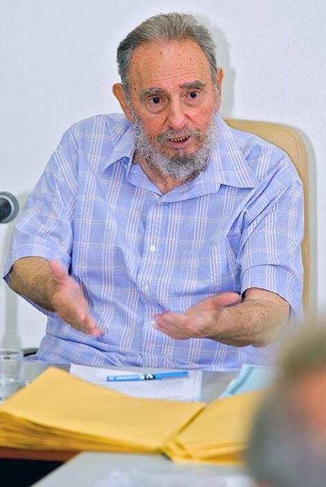 El ex presidente cubano Fidel Castro tuvo su tercera aparición pública e...