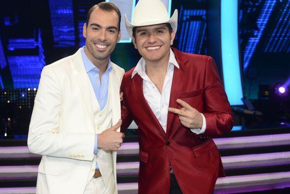 El Dasa con el eliminado de la semana, Arias Martin.