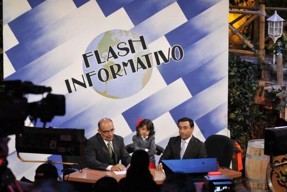 En el noticiero 'Flash Informativo' condujeron con una reportera muy car...