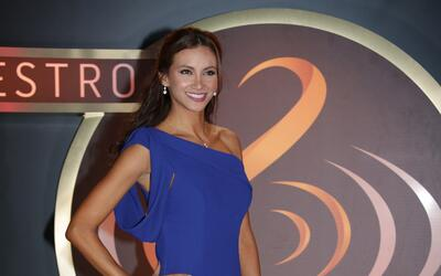 Argelia Atilano en la vigésima novena entrega al Premio Lo Nuestro.