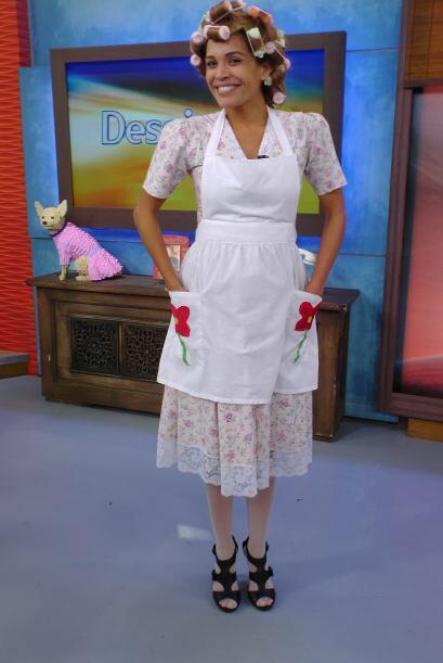 Karla Martínez como Doña Florinda