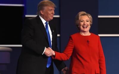 Clinton fue la ganadora del primer debate presidencial, según expertos