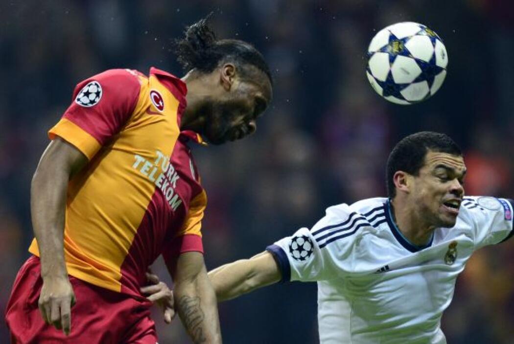 El Madrid defendió bien su ventaja.