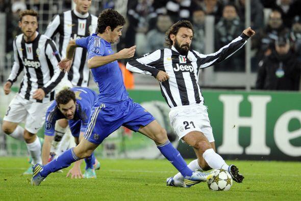 Para el complemento, la 'Juve' practicaba un mejor fútbol que los ingles...