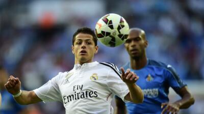 """Real Madrid dejó vencer el plazo para asegurarse a """"Chicharito""""."""