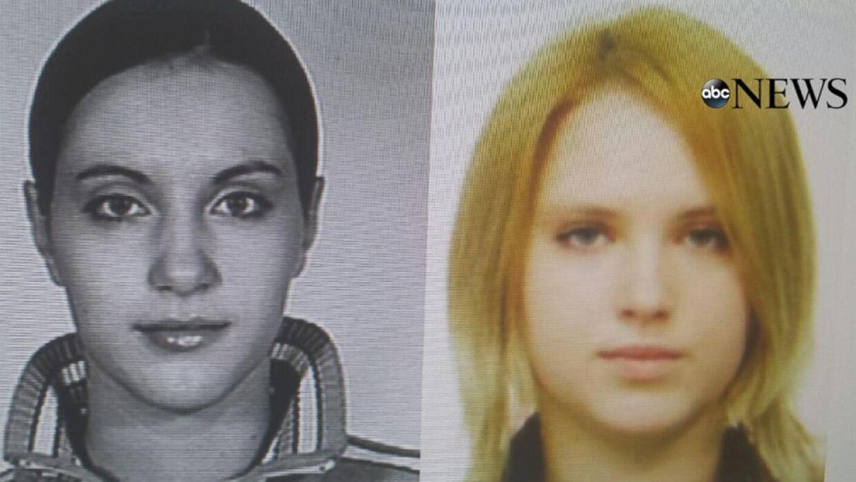 Hermanas Chernykh, Mariya (d) y Tatiana (i)