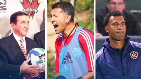 Parreira, Osorio y Gullit pasaron por la Major League Soccer en diferent...