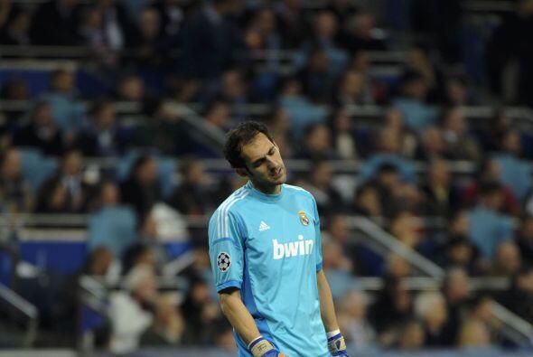 Nada pudo hacer el portero Diego López, quien reemplazaba al lesi...