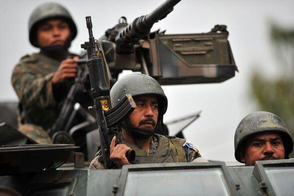 Guatemala, Honduras y El Salvador formarán una fuerza conjunta pa...