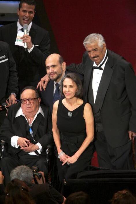 Magno homenaje: En febrero de 2012, se le preparó un tributo importante...