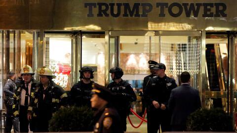 La Trump Tower fue evacuada este martes en medio del pánico por el halla...