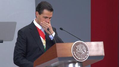 Un padre de Ayotzinapa le sugirió renunciar a Enrique Peña Nieto