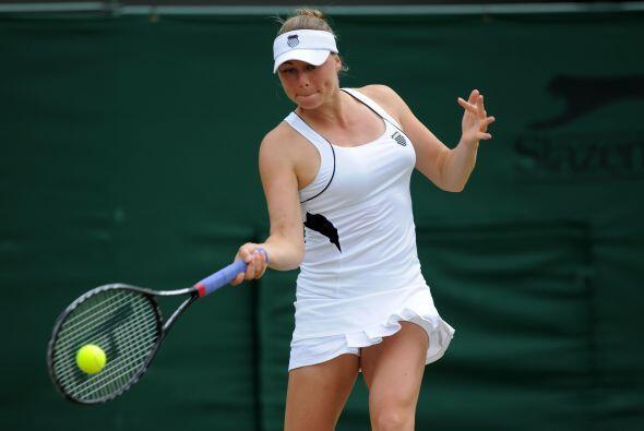 Verz Zvonareva era una de las favoritas para llevarse el torneo, sin emb...