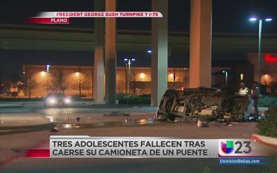 Mueren tres jóvenes en aparatoso accidente