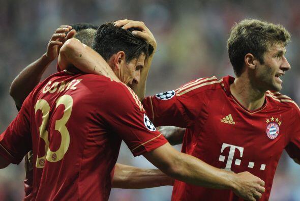 Bayer Munich venció 2 a 0 al City.