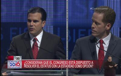 La posición de los candidatos a la Gobernación con el estatus de Puerto...