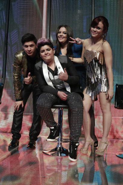 Danny Montejo, Stephanie Guzmán, Yazaira López y Ana Crist...