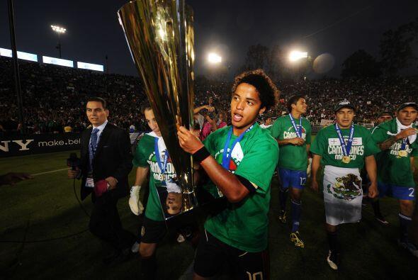México ganó esta Final por marcador de 4-2 y el tanto antes mencionado f...