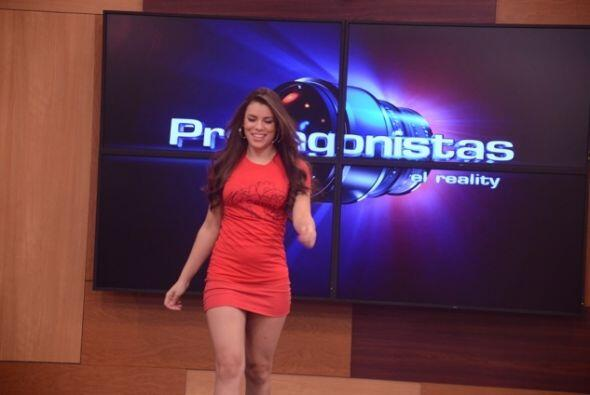 Miss Guadalajara en la Casa Estudio de Protagonistas.