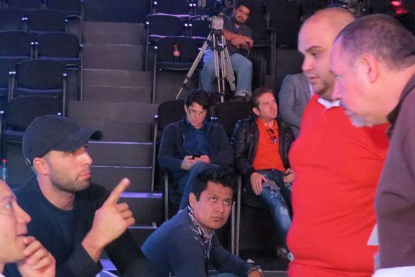 Ricardo, aquí con Jencarlos, llegó prácticamente a los ensayos desde el...