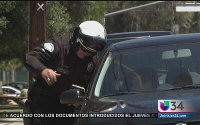 Amnistía para multas de tránsito en CA