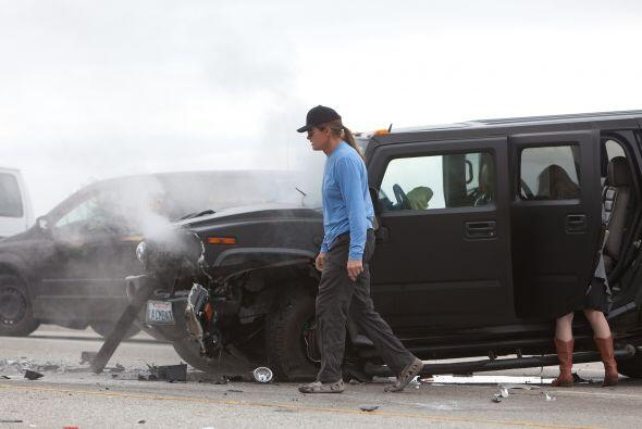 Bruce Jenner chocó en la autopista de Malibu y se provocó...