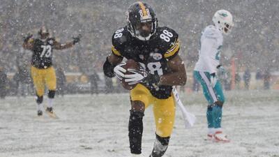 Emmanuel Sanders jugó en los Steelers la temporada pasada (AP-NFL).