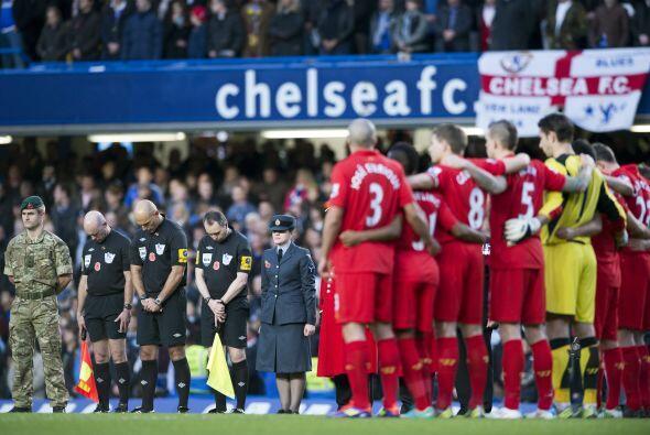 Chelsea y Liverpool se vieron las caras en la fecha 11 de la Liga Premie...