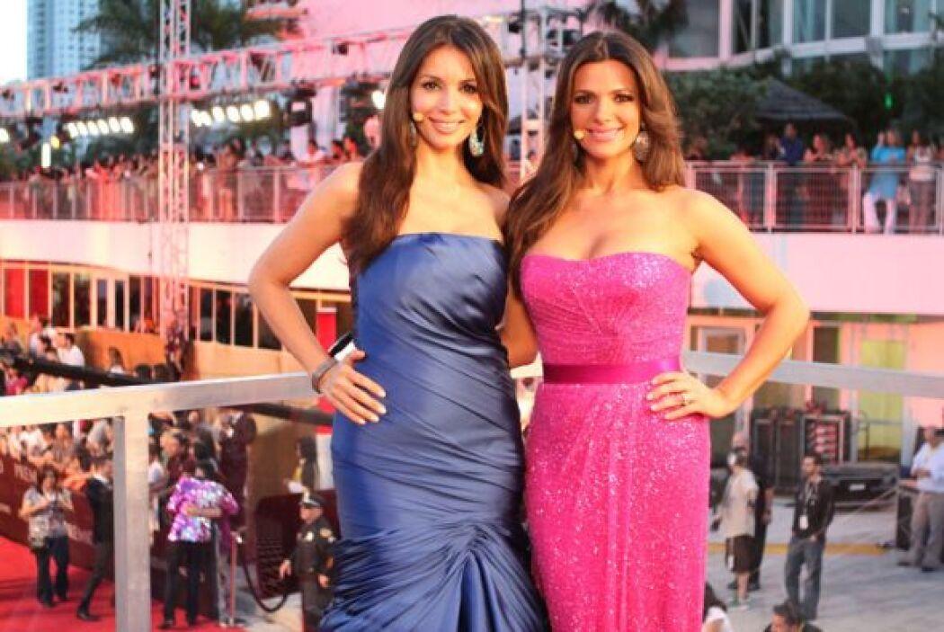 Giselle Blondet y Bárbara Bermudo nos dieron una clase de elegancia y be...