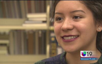 Samantha Vázquez, una jovencita que sigue su camino hacia el éxito