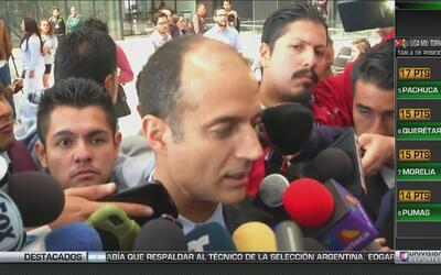 """Guillermo Cantú: """"Nuestro reglamento no permite banderas grandes"""""""