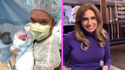 Lili y Raúl reaccionaron con mucha emoción al nacimiento del hijo de Car...