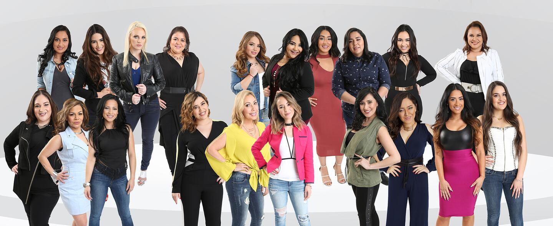 20 participantes de La Reina de la Canción.