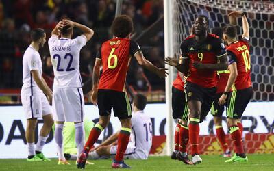 Lukaku evita el desastre para Bélgica y la sorpresa para Grecia