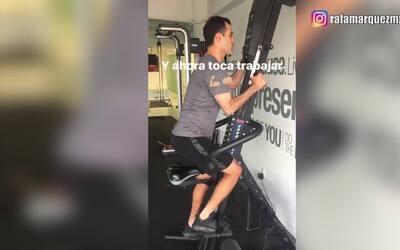 'Rafa' Márquez mostró que está listo para escalar hasta lo más alto
