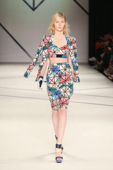 ¡Los vestidos de dos piezas, 'top' y  falda corta, serán los favoritos p...