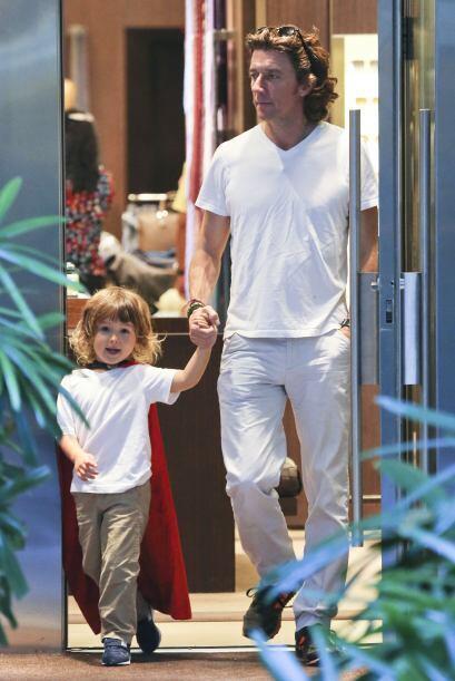 Lo que es un hecho es que el pequeño Andrea se la pasa de maravil...